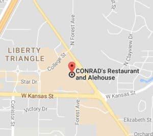 CONRAD'S-Map