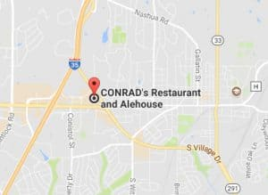 Map of CONRAD'S Restaurant and Alehouse