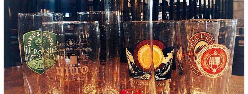 "NFL ""Draft"" Night Brew Glass! (7 Different Glasses)"