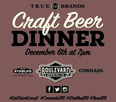 CONRAD'S Craft Beer Dinner