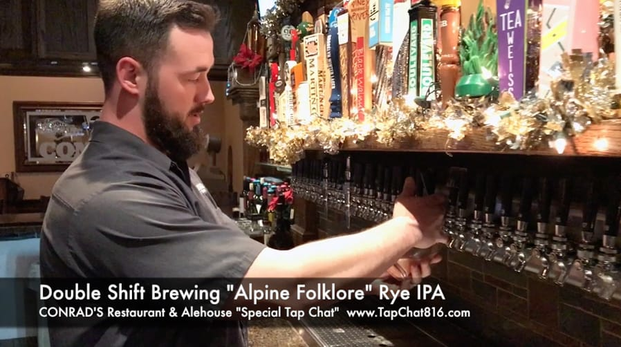 Double Shift Brewing Alpine Folklore, Rye IPA - Tap Chat
