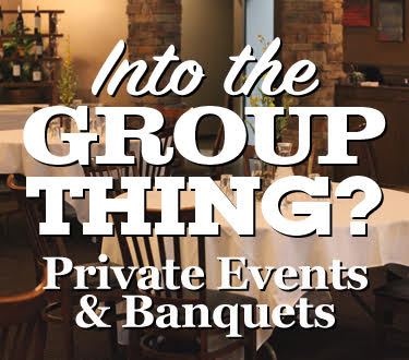 Private Events & Banquets