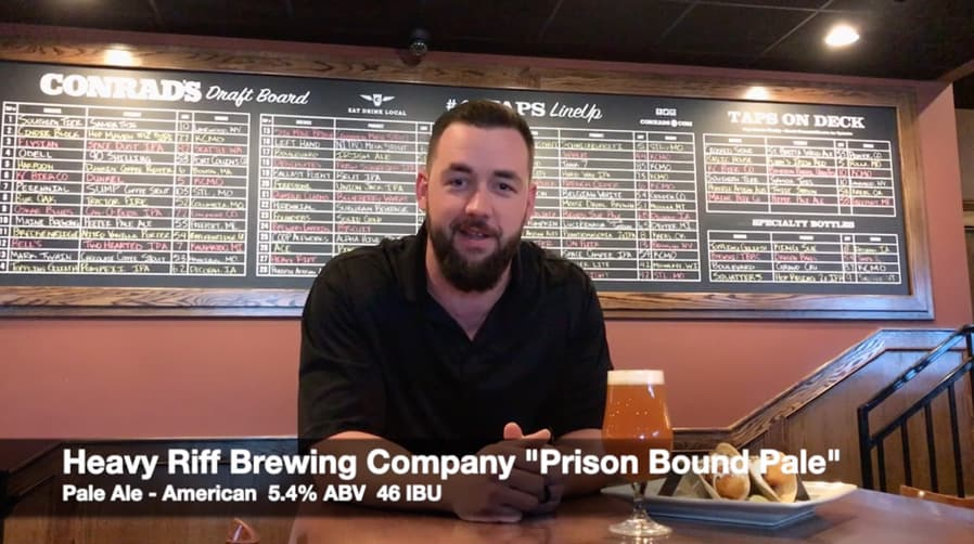 Heavy Riff Brewing Prison Bound Pale