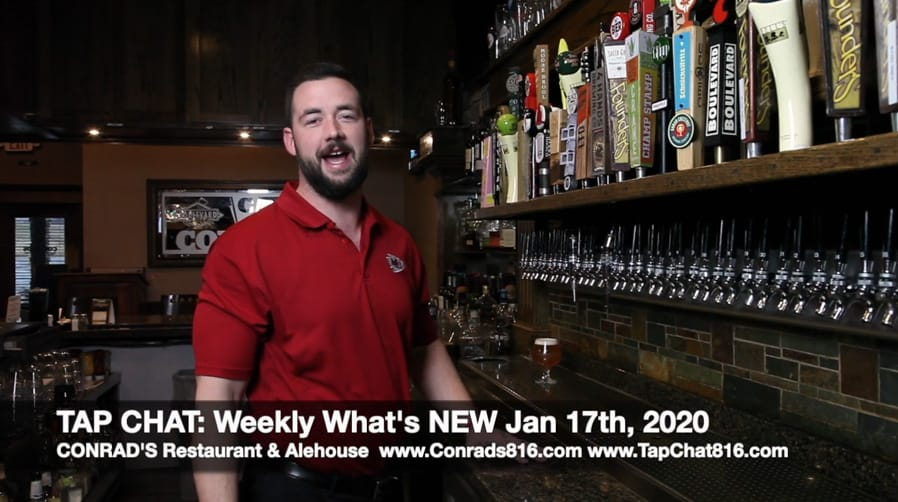 CONRAD'S Tap Chat- Weekly What's NEW Jan 17, 2020